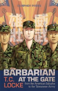 The cover of Barbarian at the Gate, by T.C. Locke