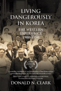 The cover of Living Dangerously in Korea