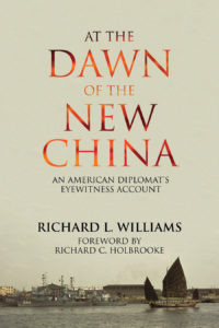 The cover of At the Dawn of the New China