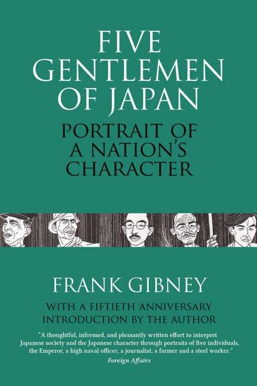 Cover of Five Gentlemen of Japan
