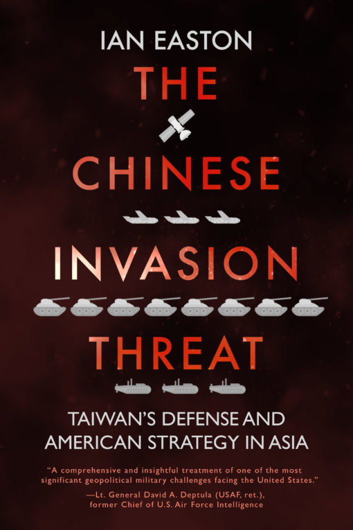 The cover of The Chinese Invasion Threat