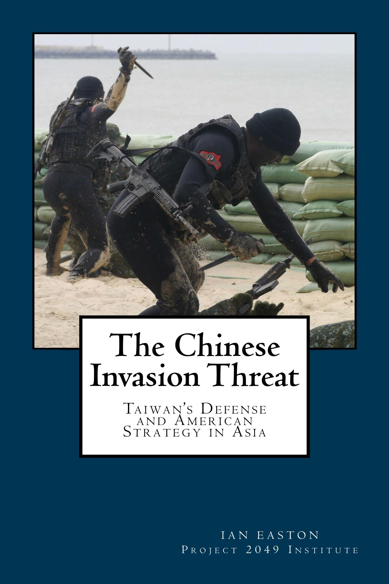 The cover of The Chinese Invasion Threat, by Ian Easton