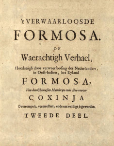 cover to book on the Dutch and Koxinga
