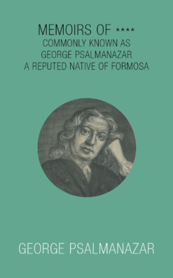 Cover of Memoirs of **** by George Psalmanazar