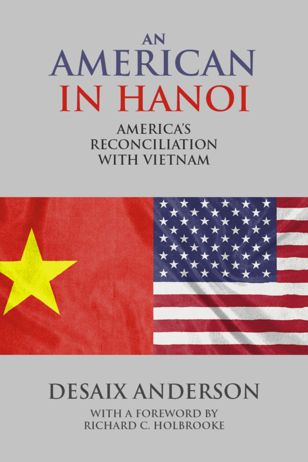 The cover of An American in Hanoi