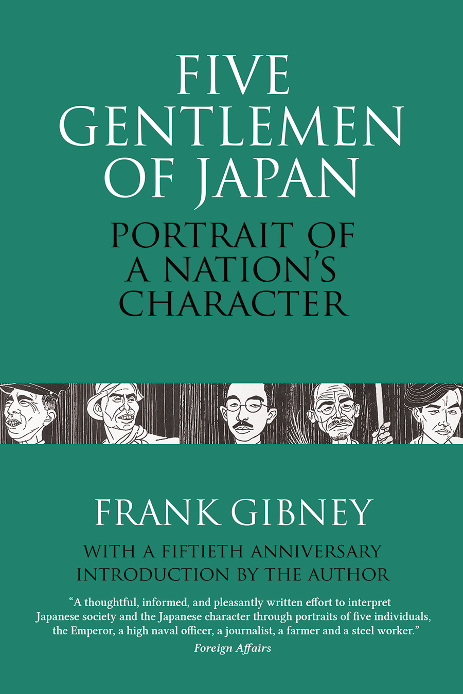 Cover of Five Gentlemen of Japan